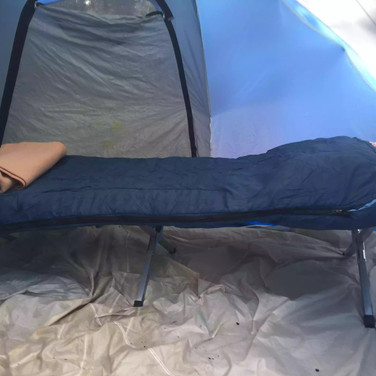 First Class Tent Camping