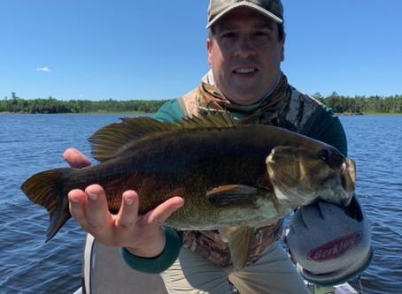 Fall Lake Fishing report for June 17th