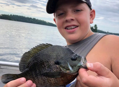 Fall Lake Fishing Report for July 25th