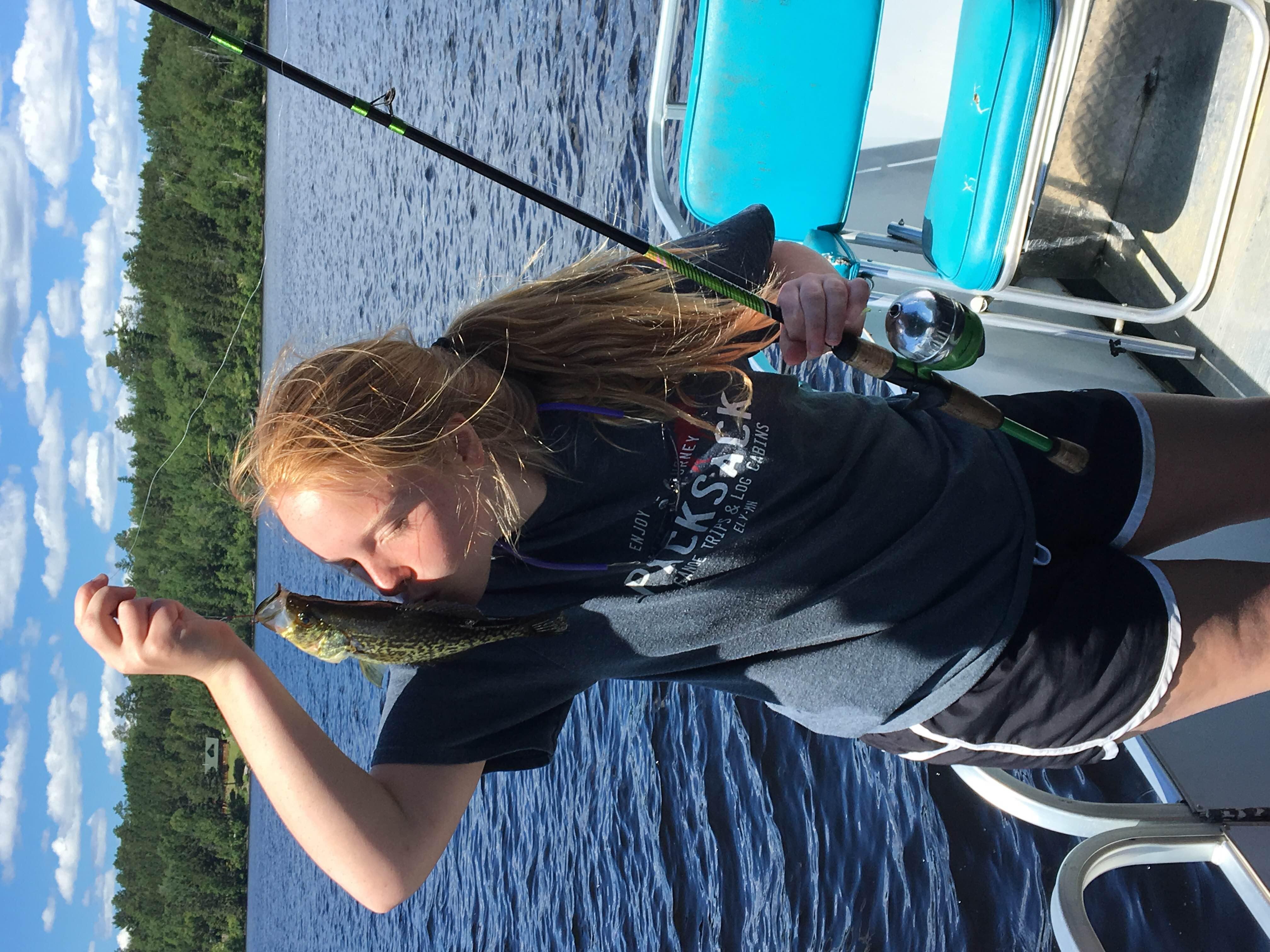 BWCA fishing: Why kiss the fish?