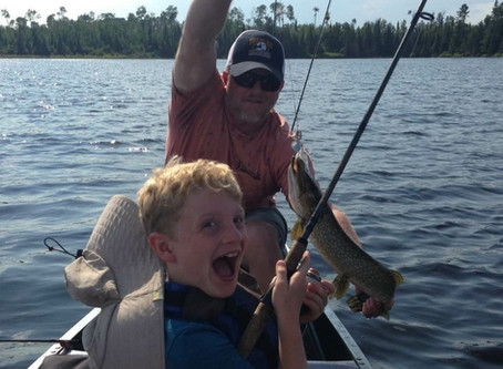 Fall Lake Fishing Report for August 28th