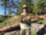 Deluxe camping options, Boundary Waters MN camping to put you onto big fish.