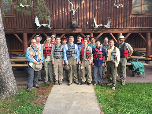 Packsack, Boundary Waters outfitters to non-profit groups.