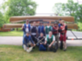 Boundary Waters Canoe trip trransport services.