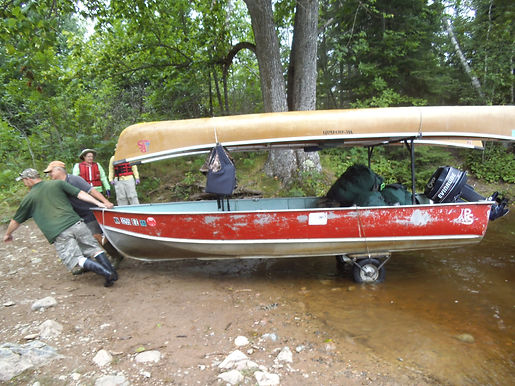 Towing service to Pipestone Bay, and MN Boundary Waters