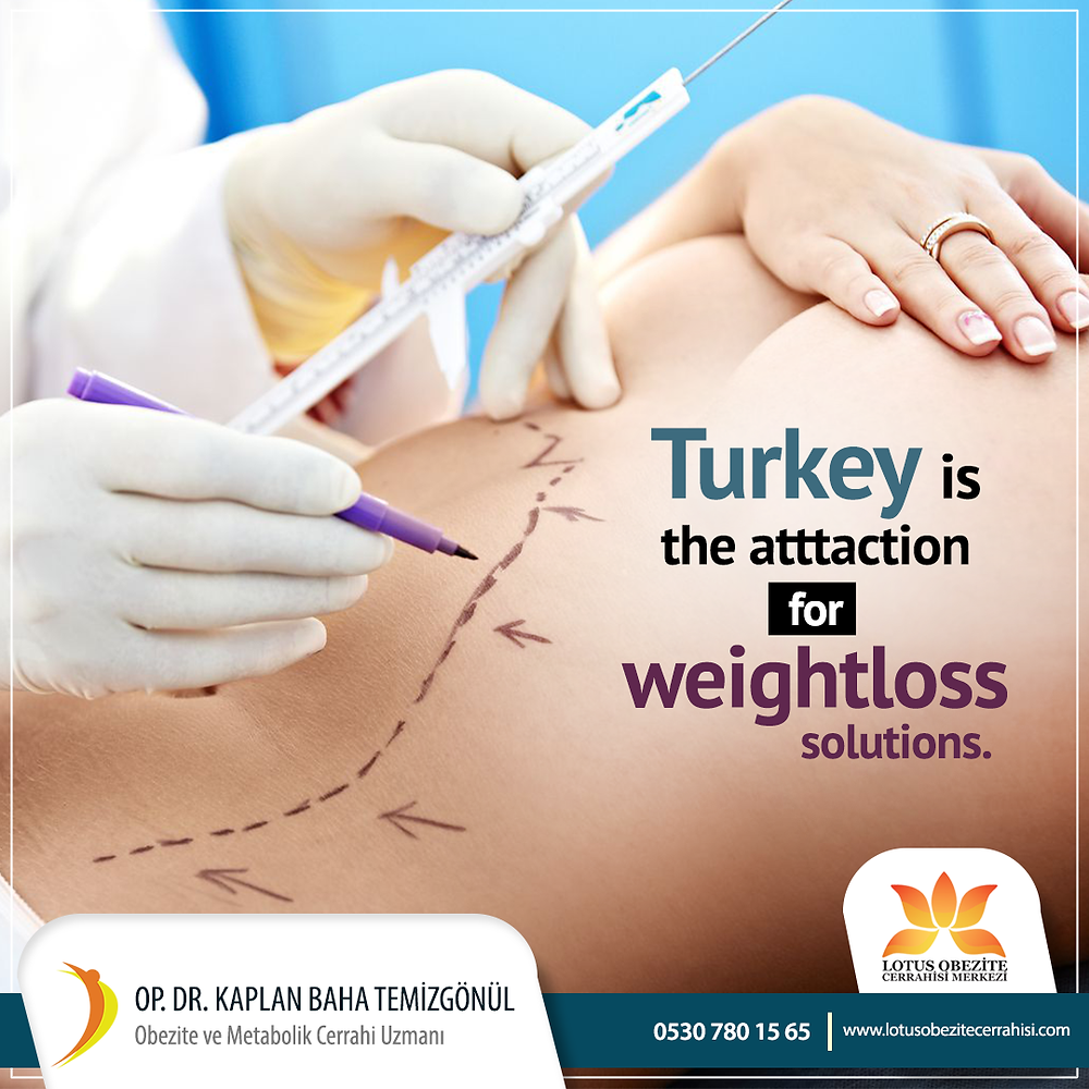 Weight loss surgery in Turkey