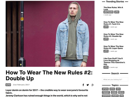 Featured on TOPMAN