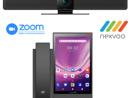 In Collaboration w/ ZOOM, NEXVOO® Announces A ($100 Discount) On Two Unified Collaboration Products