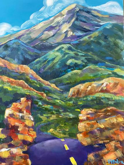 Rocky Mt Road Trip, Acrylic 15x30.jpg