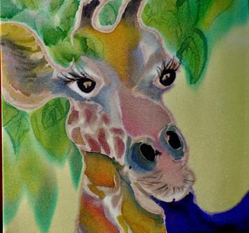 Tongue Tied Giraffe