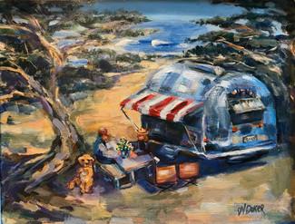 California Beach Camp