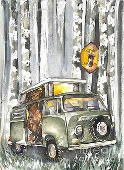 Bigfoot, small van