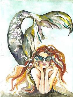 Too Cool Mermaid
