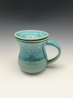 Turquoise Tea Steeper 3pc Set
