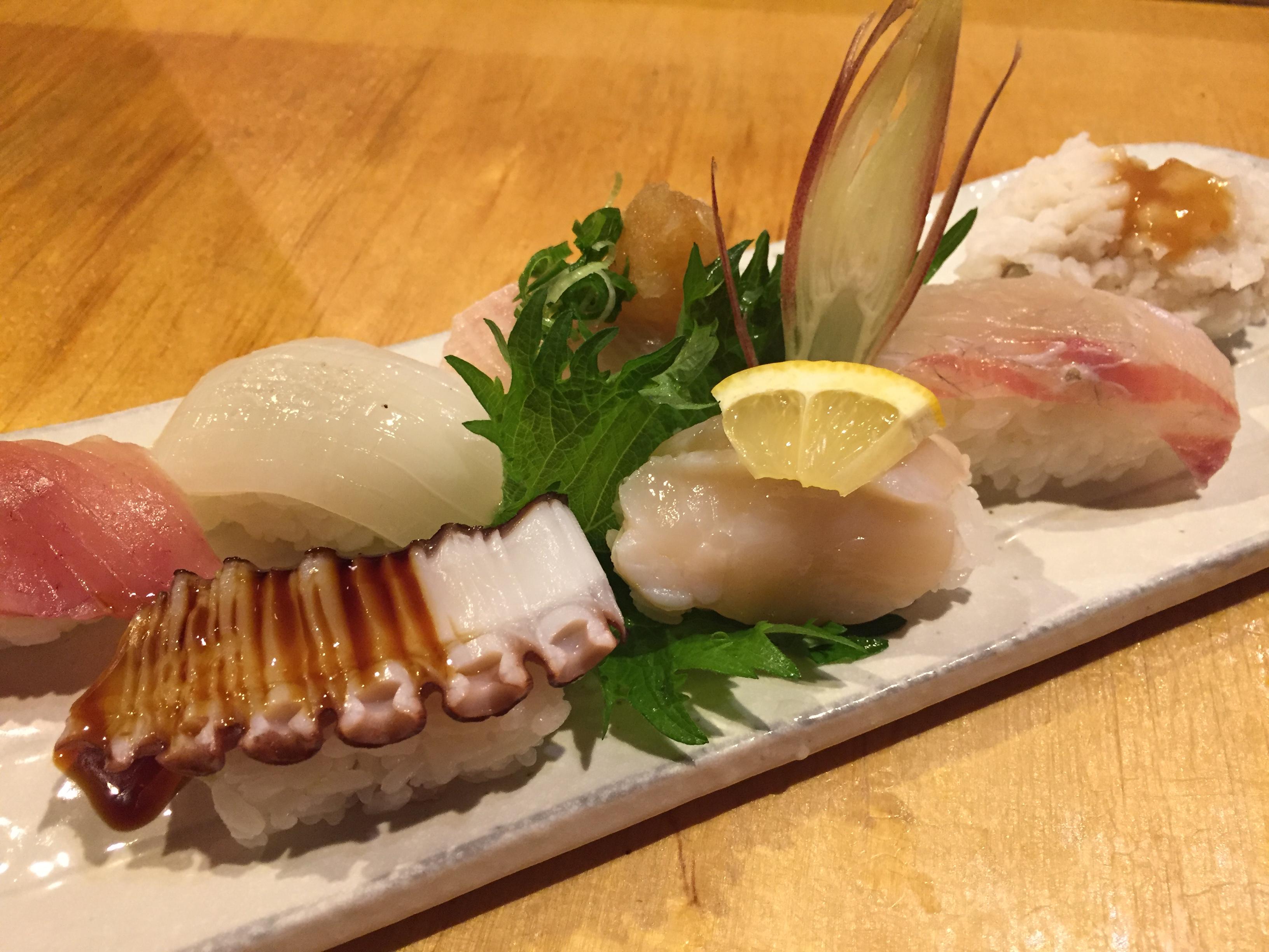 マスターの気まぐれにぎり寿司