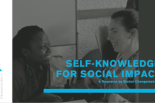 Self Knowledge for Social Impact Workbook