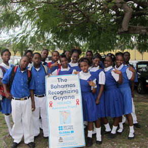 Recognizing Guyana-HIV/AIDS Campaign