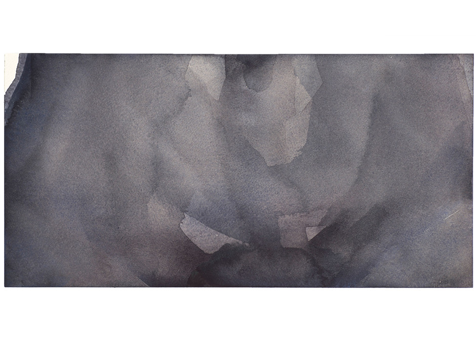 'Navel Series', 2014, watercolour on paper, 15 x 30 cm
