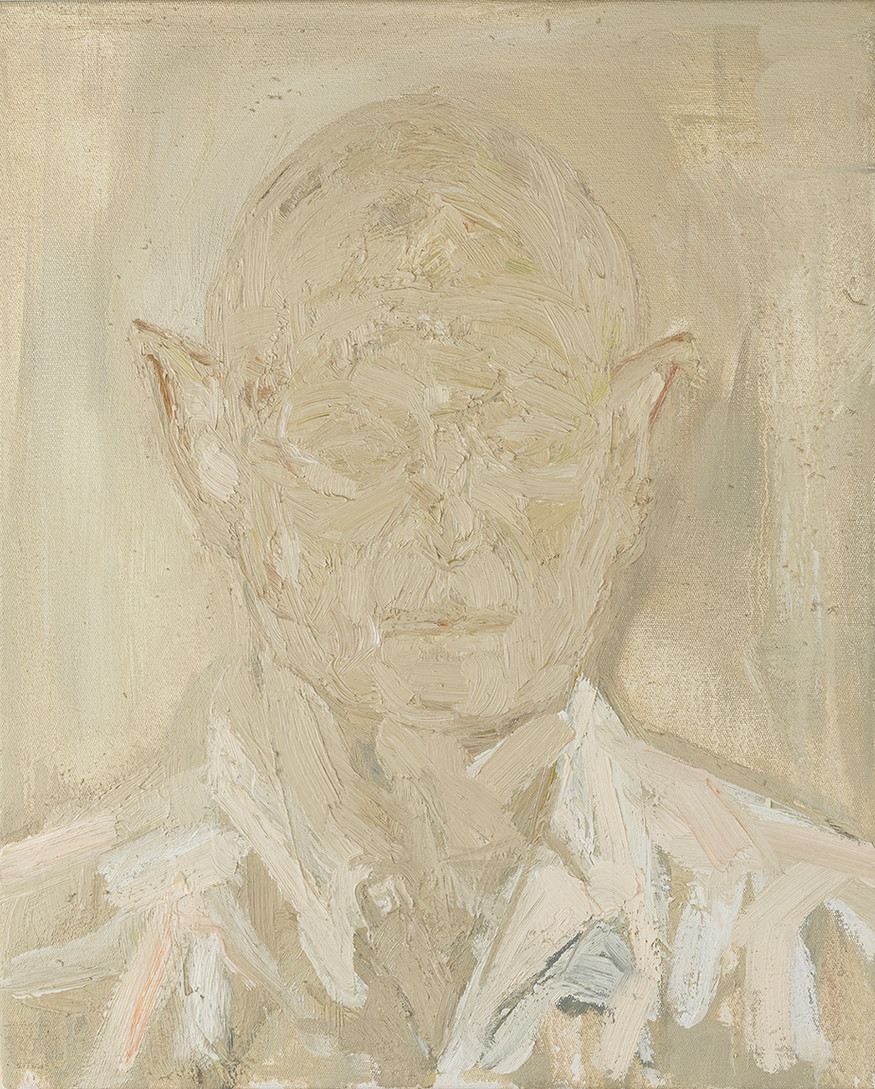 'Crispian', 2019, oil on canvas, 50 x 40 x 5 cm