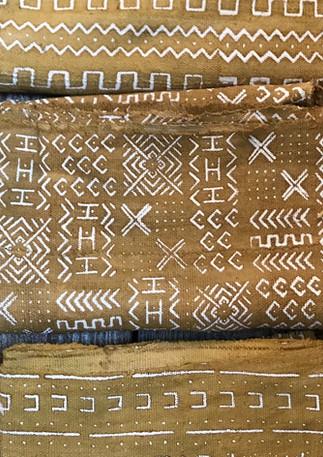 Bambara mud cloth Mali