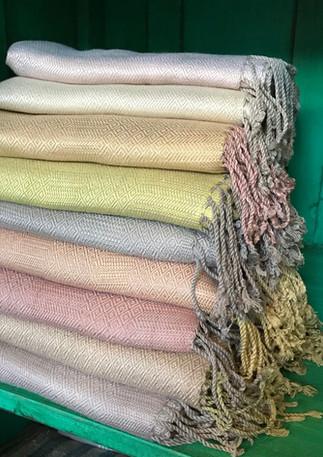 Silk shawls Thailand