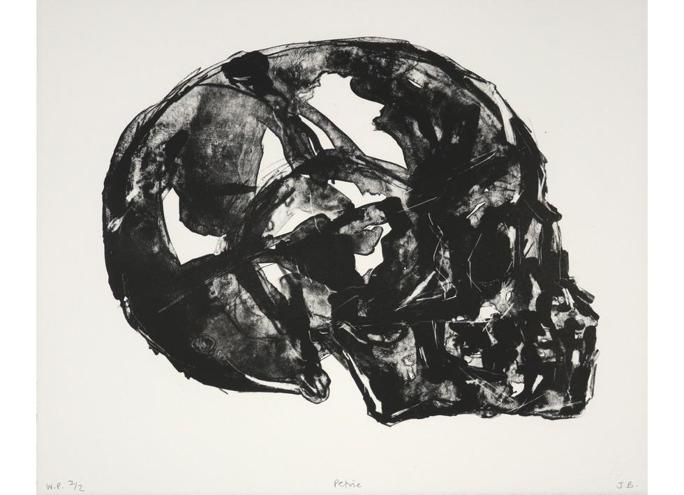 'Petrie', 2017, lithograph, 31 x 38 cm