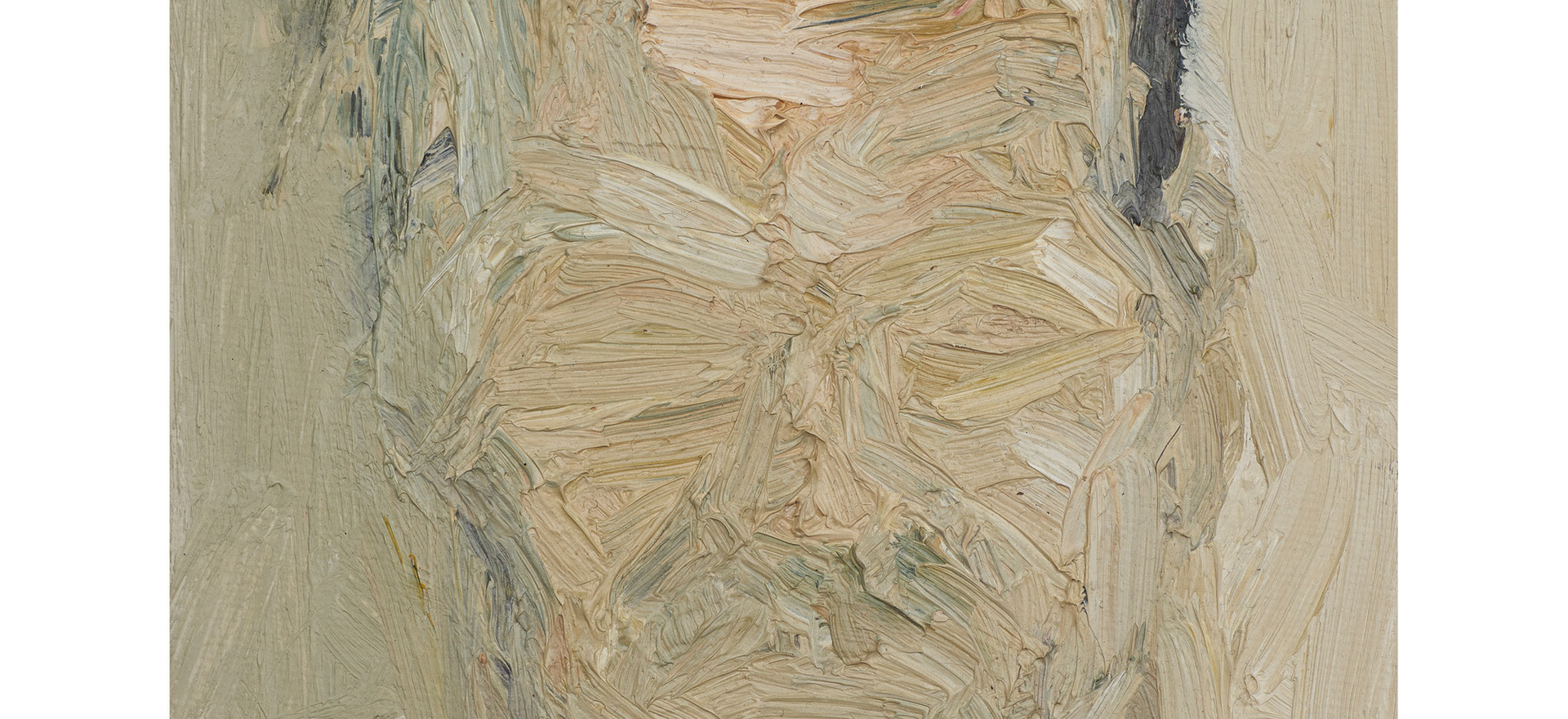 'R.K.' 2011, oil on canvas, 18 x 13 cm