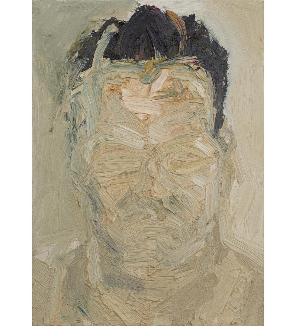 'R.K.' 2011, oil on canvas, 18 x 13 cm