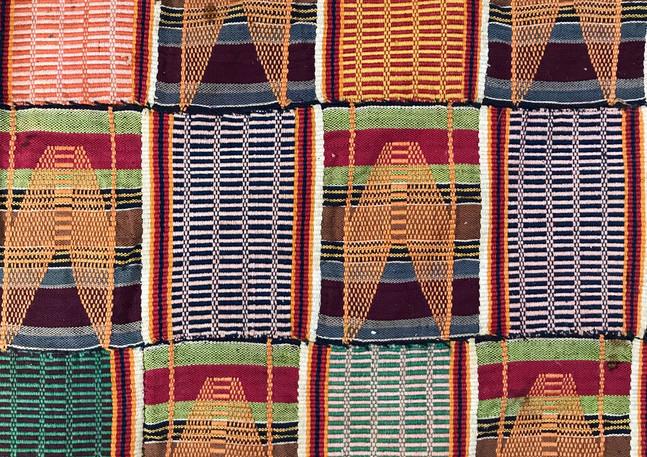 Ewe- Kente cloths Ghana