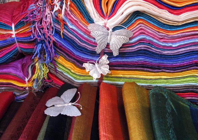 Silk scarves Thailand