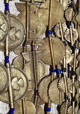 Brass pendants, Baule people