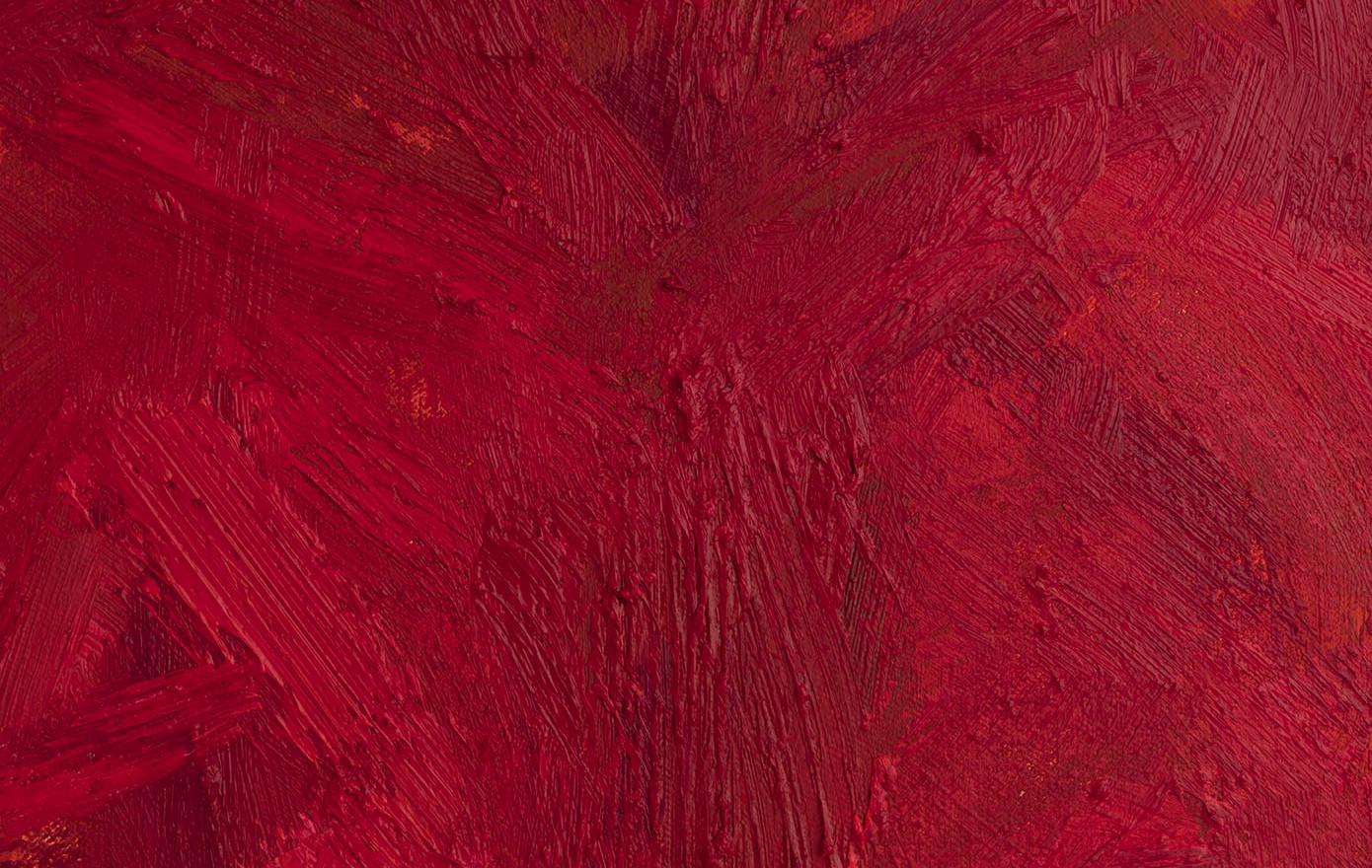 'Hineni: Hineni (LC)', 2018, oil on canvas, 195 x 25 x 5cm (Detail)