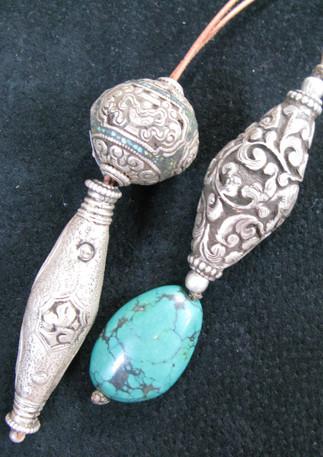 Silver Beads, Nepal
