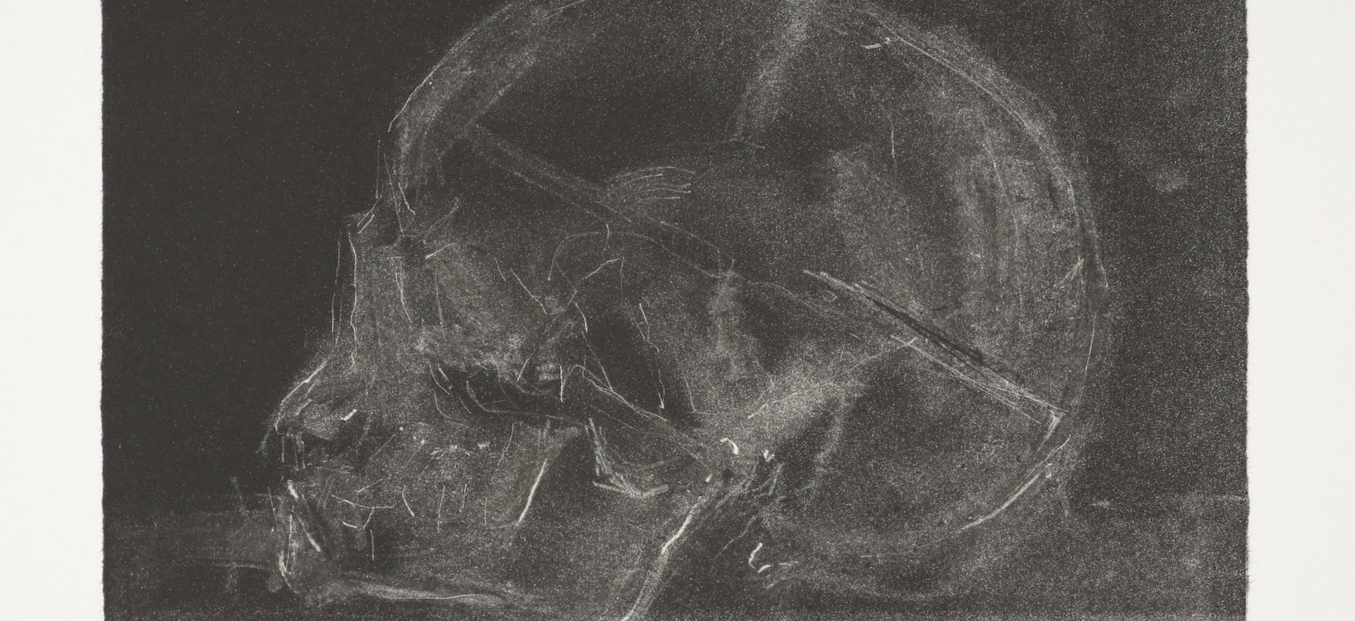 'Orb', 2017, lithograph, 24.2 x 18.4 cm