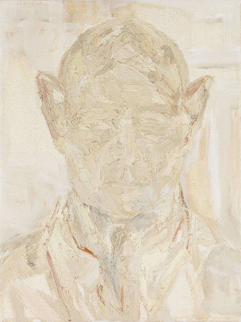 'Intro', 2019, oil on canvas, 40 x 30 x 5 cm