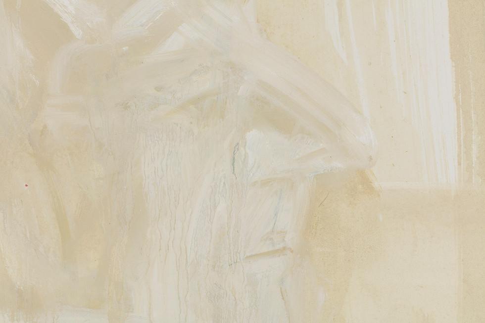 'Cyrano', 2019, oil on canvas, 60 x 80 x 2.5 cm (detail)