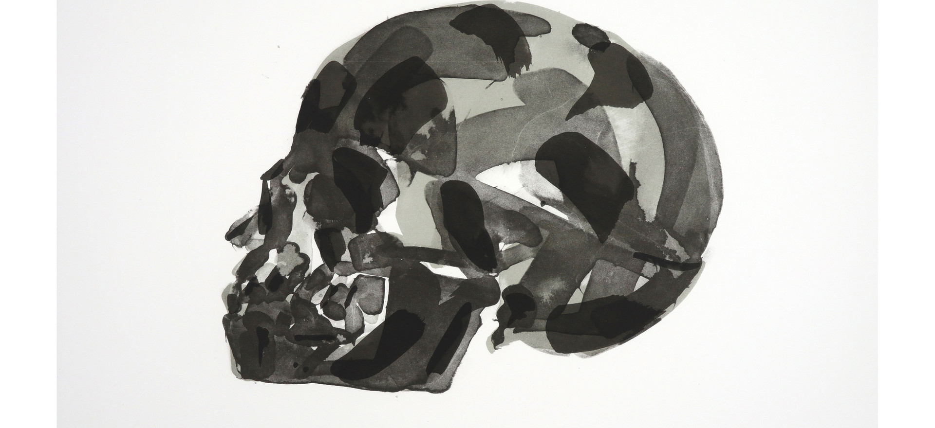'Articulated (right)', 2017, lithograph, 43.3 x 53 cm