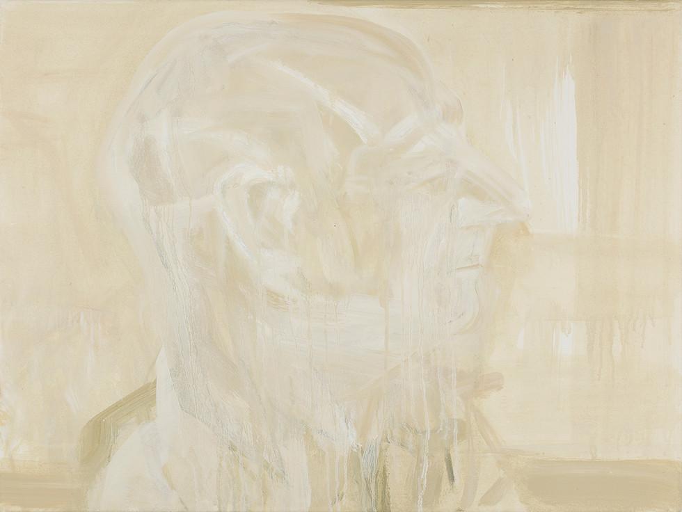 'Cyrano', 2019, oil on canvas, 60 x 80 x 2.5 cm