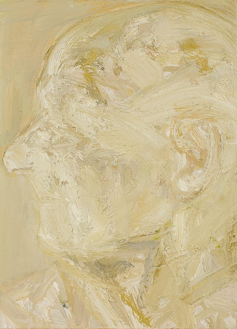 'Illuminate', 2019, oil on Jelutong, 30 x 21 x 2.5 cm