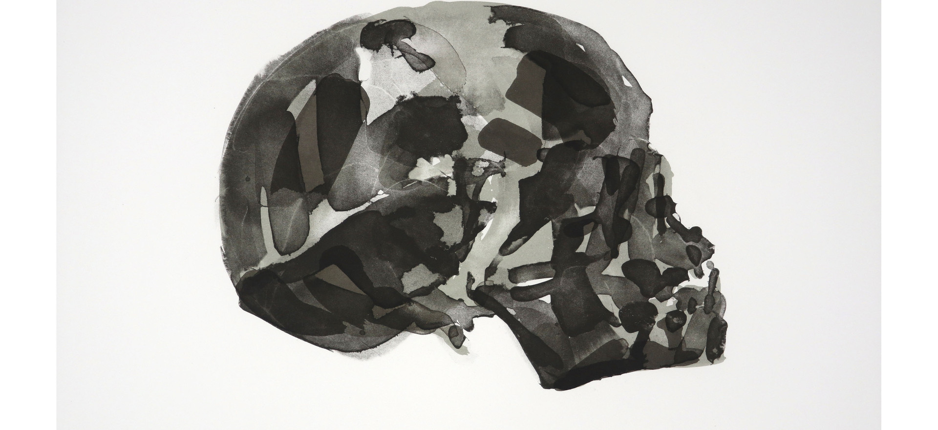'Articulated (left)', 2017, lithograph, 43.3 x 53 cm