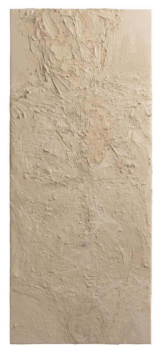 'Knowing', 2017, oil on camvas, 90 x 37.5 cm
