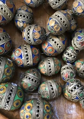 Turkoman beads