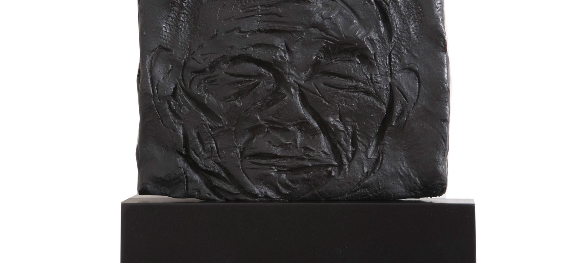'Pyro II', 2004, bronze, 11 x 13 x 2 cm