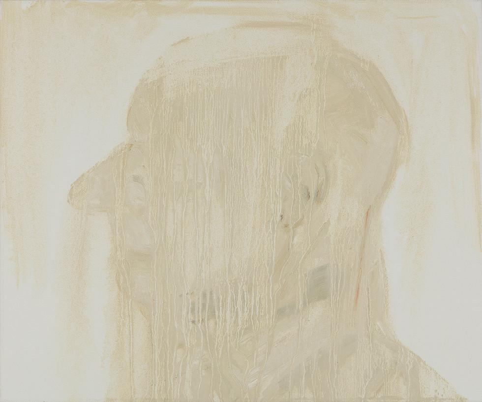 'Bergerac', 2019, oil on canvas, 50 x 60 x 5 cm