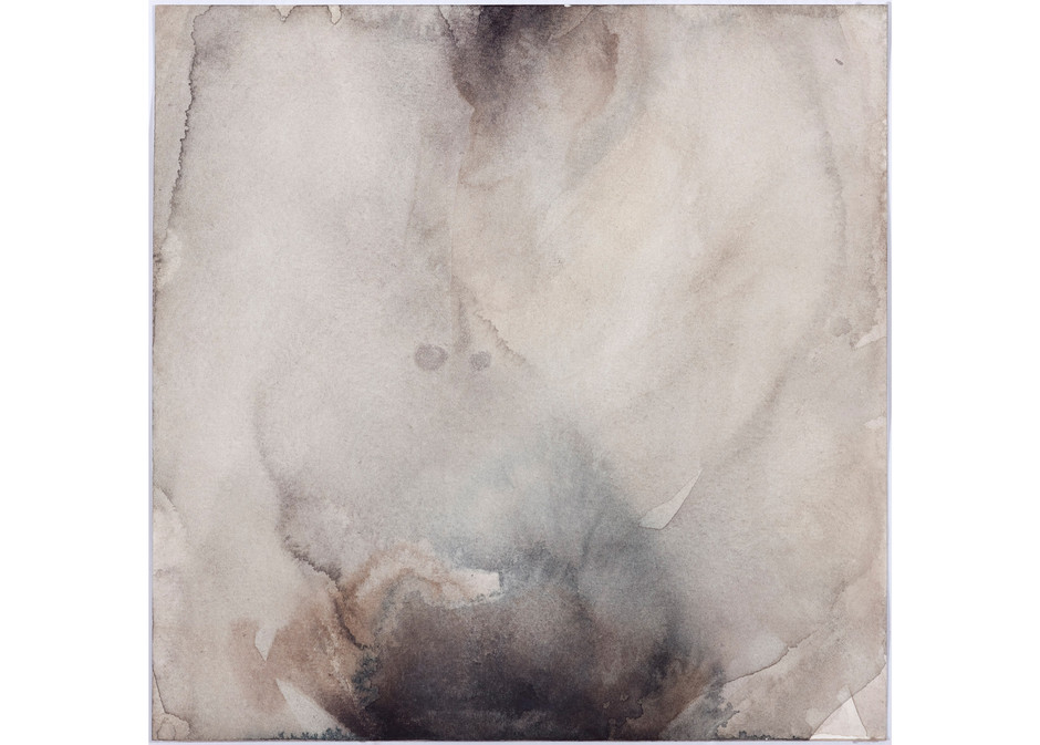 'Navel Series', 2013, watercolour on paper, 20 x 20 cm