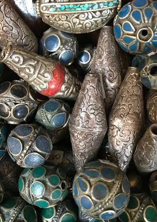 Afghan and Nepal beads