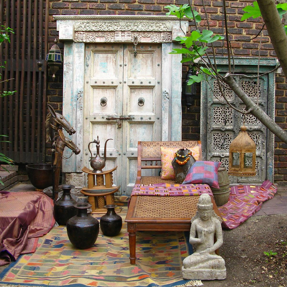 Furniture, artefacts, textiles and jewellery from Africa, India & SE Asia