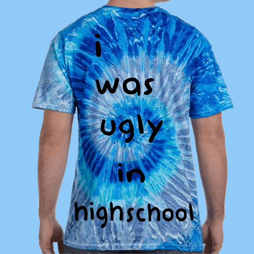 Tie dye ugly in high school
