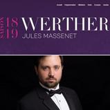 WERTHER - Opéra de Québec