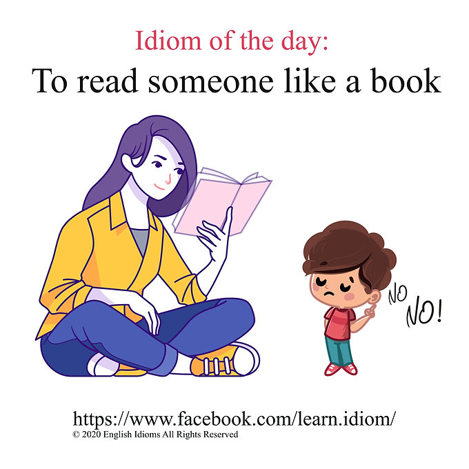 To read someone like a book